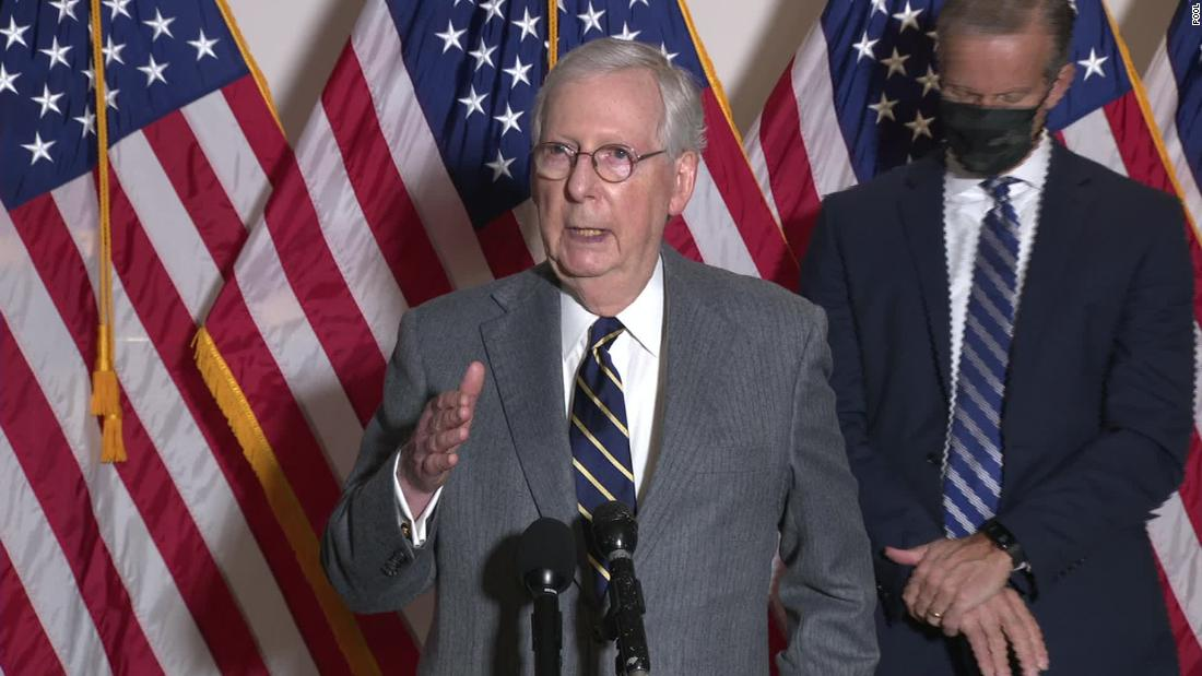 Mitch McConnell says US will have 'orderly transfer' of power