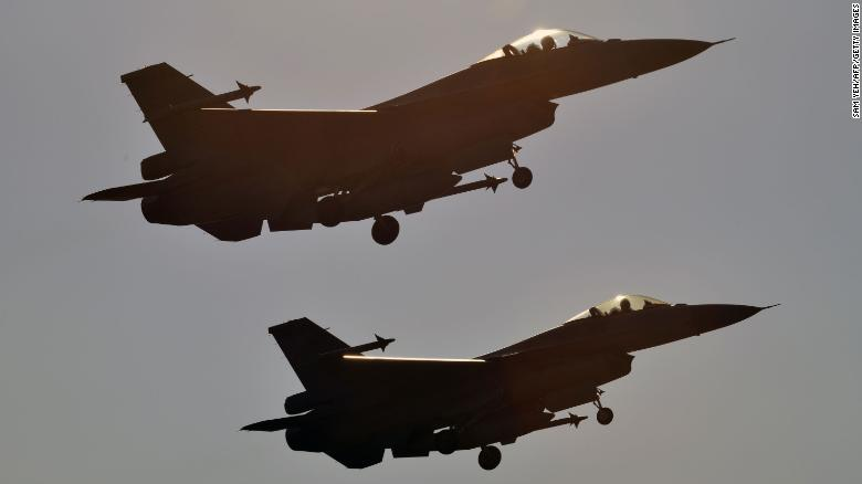 Taiwan grounds entire fleet of US-made F-16 fighter jets after crash