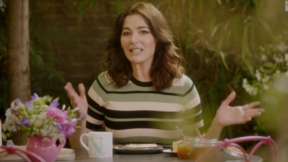 Nigella Lawson butters her toast twice, and Britain is really angry about it