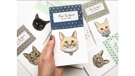 Custom Cat Magnet