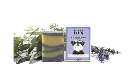 Soapy Tails Dog Shampoo Bar