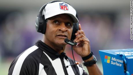 NFL referee Jerome Boger will lead the first all-Black officiating crew in NFL history.
