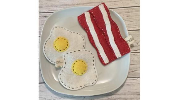 Bacon or Egg Cat Toy