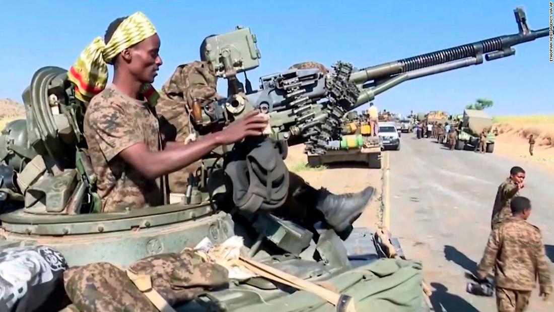 Ethiopian federal troops advancing on Tigray's capital says gov't spokesman - CNN