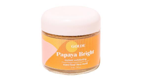 Golde Papaya Bright Exfoliating Face Mask