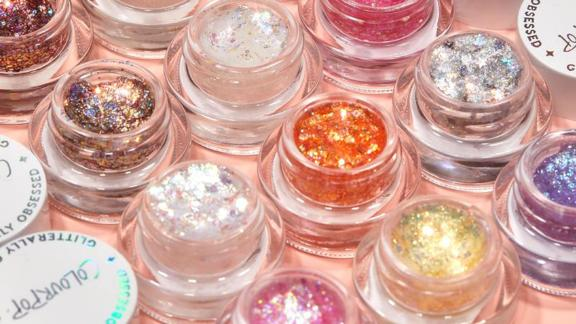 Colourpop Feeling Euphoric Glitter Gel Mini Vault