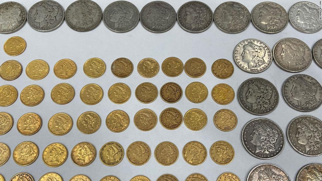 New homeowners found coins worth $25,000 in a drawer -- and then gave them back