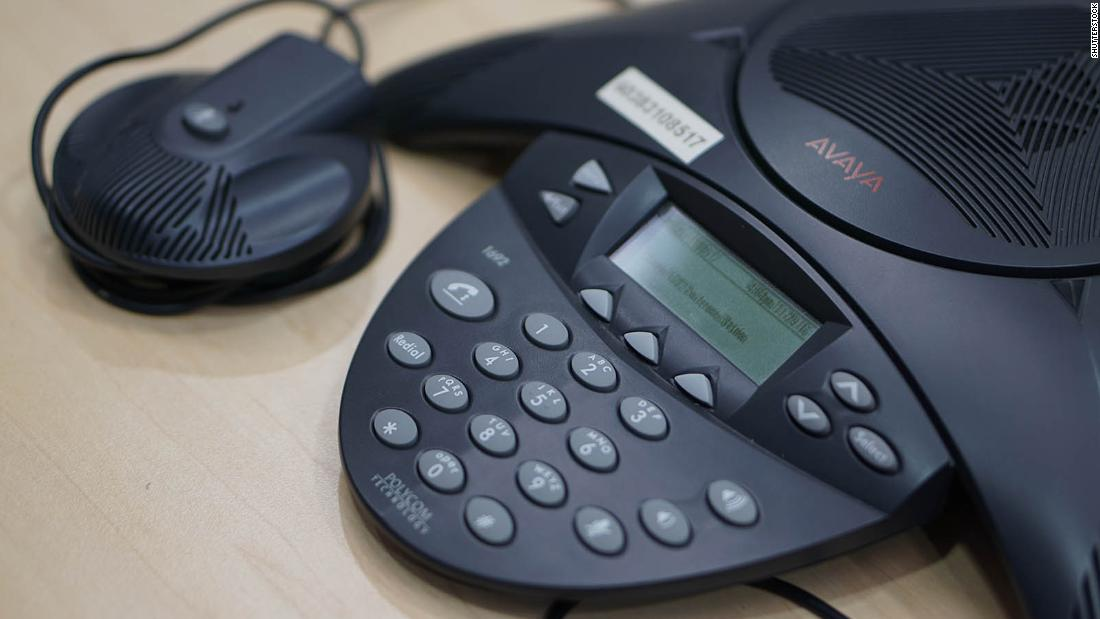Working from home is a boost for a...desktop phone company?