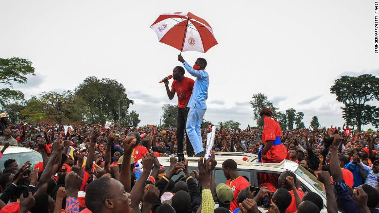 Ugandan presidential candidate Bobi Wine arrested again, sparking protests