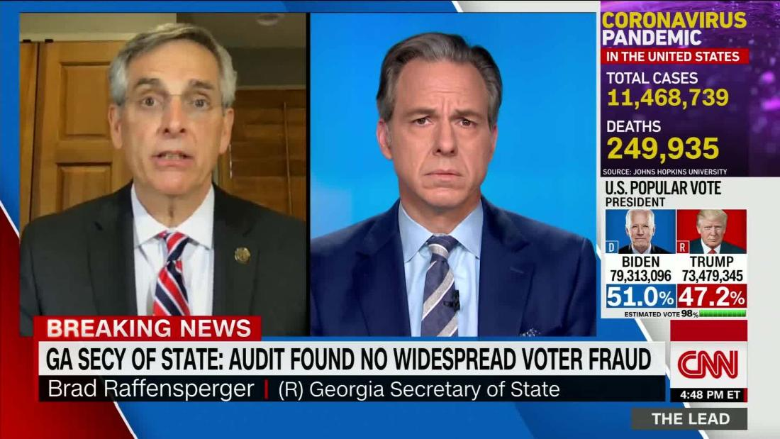 GA Secy of State: audit found no widespread voter fraud ...