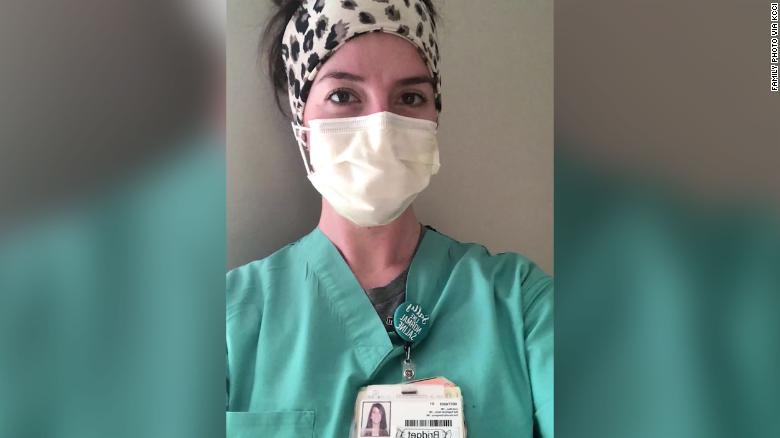 Nurse who watched her father fight Covid in her own ICU wants people to know the virus is real