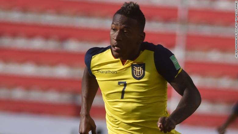 Ecuador star Pervis Estupinan finds his missing passport after social media appeal