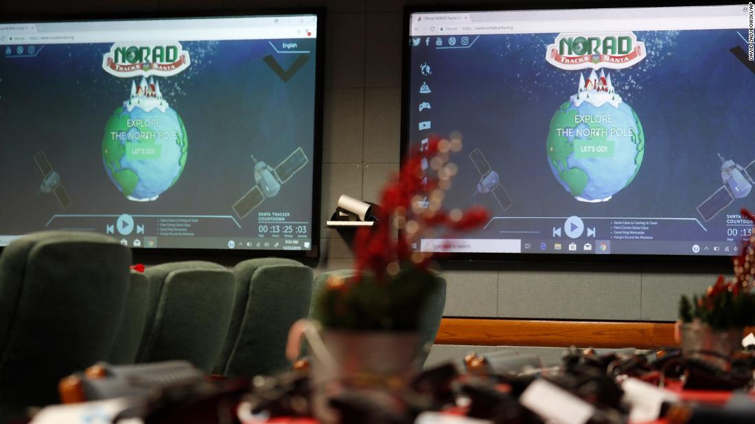 Covid-19 won't stop NORAD from tracking Santa's Christmas Eve flight around the world