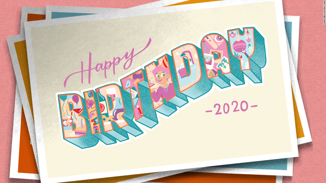 50 ways to celebrate a birthday during a pandemic