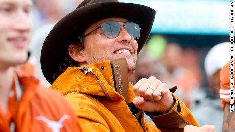 Matthew McConaughey is considering Texas governor run