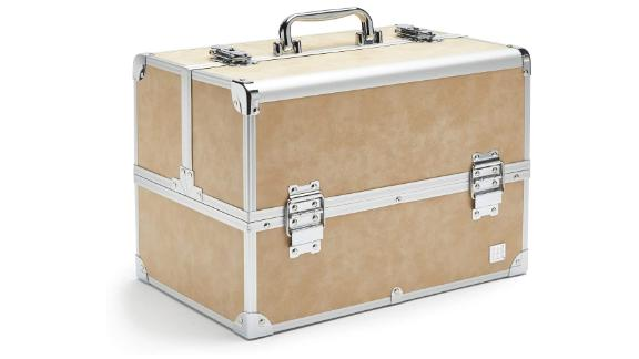 Caboodles Large Train Case, Cosmetic Storage Case & Organizer