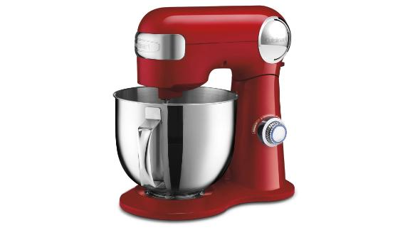 Cuisinart SM-50RC Precision Master 5.2-Liter Stand Mixer in Red