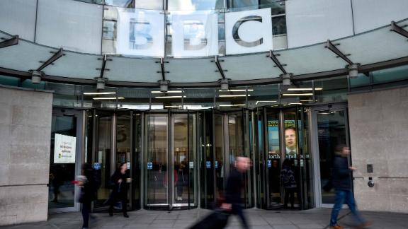 LONDON, ENGLAND - JANUARY 29: General View of BBC Broadcasting House on January 29, 2020 in London, England.
