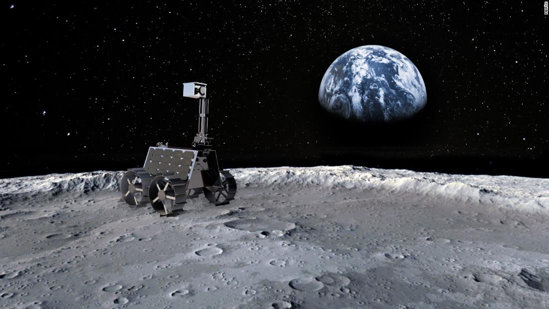 The UAE has announced a moon mission that will use an unusually small rover, with just four wheels and a weight of 10 kilograms (22 pounds).