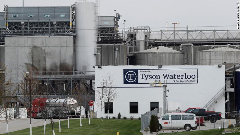 A lawsuit alleges that managers at Tyson's Waterloo plant took bets on how many workers would get sick.