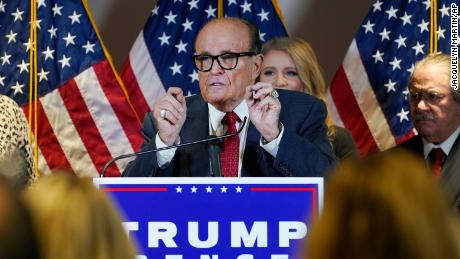 Fact checking Giuliani and the Trump legal team's wild, fact-free press conference