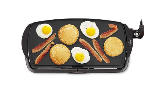 "Bella 10.5"" x 20"" Nonstick Electric Griddle"