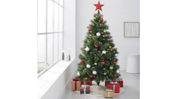 Wondershop Pre-Lit 4 1/2-Foot Artificial Christmas Tree
