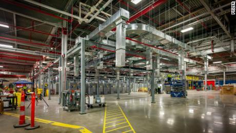 Pfizer's manufacturing facility in Kalamazoo, Michigan.