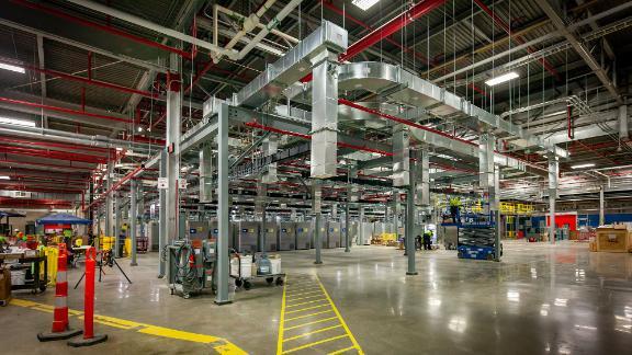 Pfizer manufacturing facility in Kalamazoo, MI.