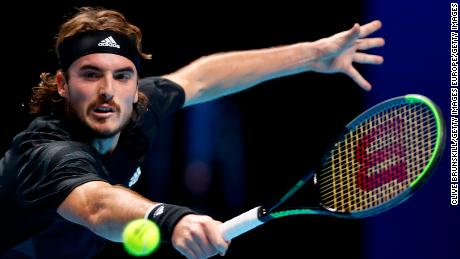 Stefanos Tsitsipas is the defending champion at the ATP Finals.