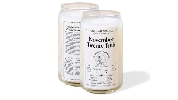 Birthdate Candle