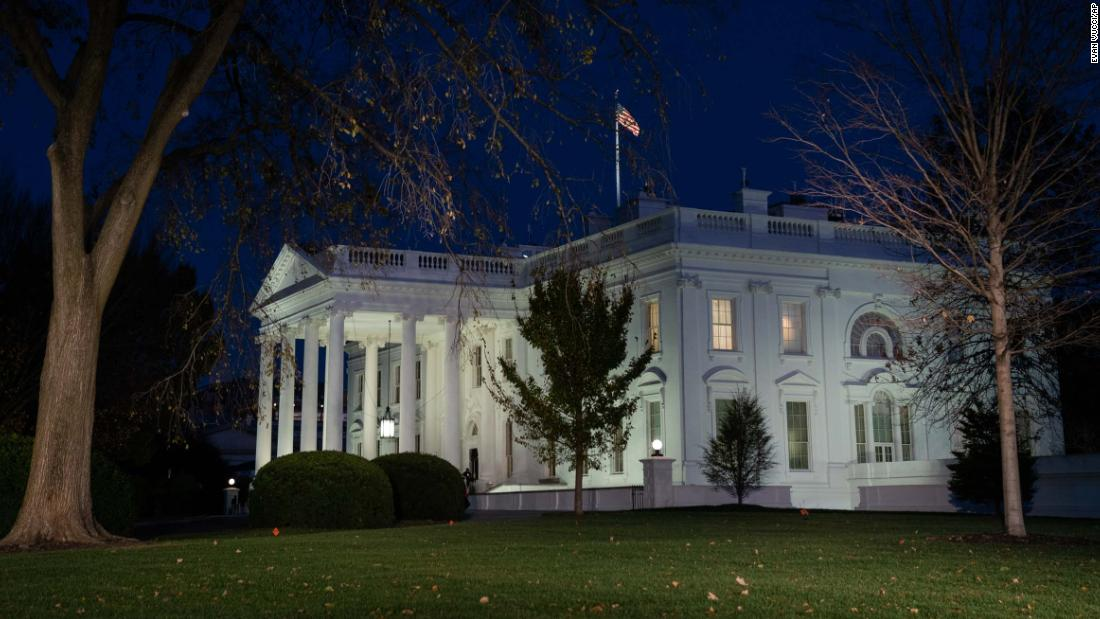 White House chief of staff notifies West Wing staff of formal transition