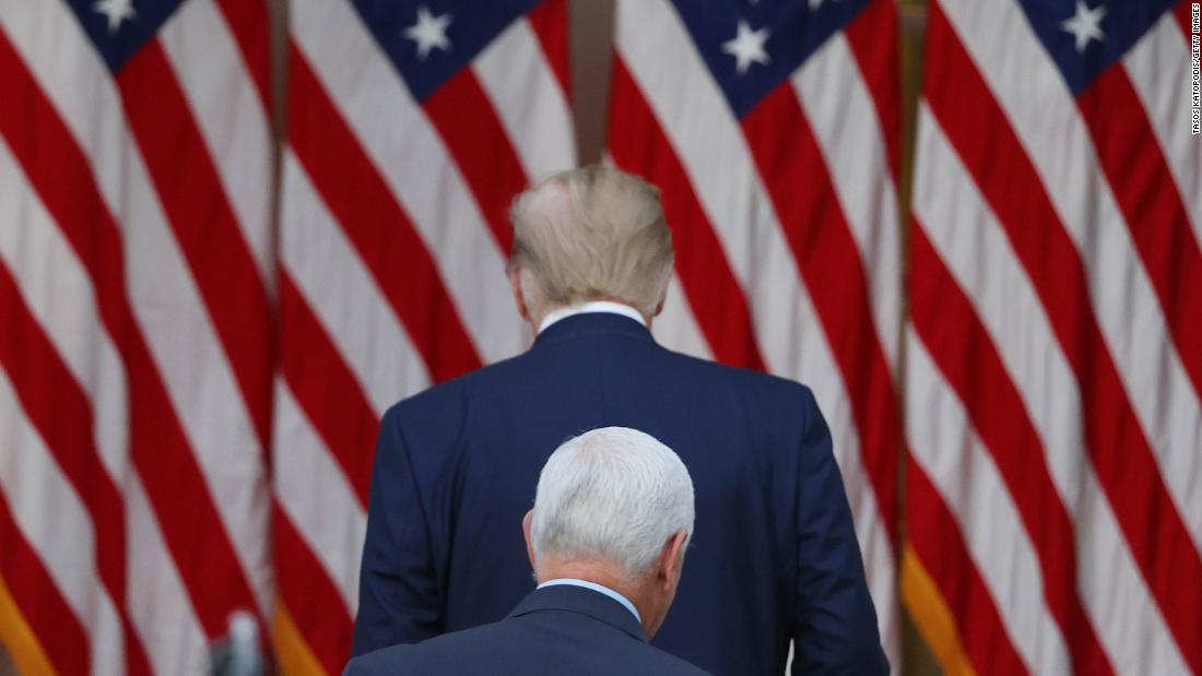 Pence calls Harris while Trump continues to stew in denial – CNN