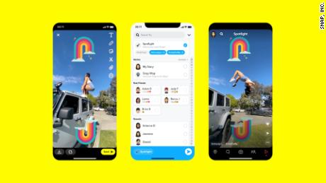 Snapchat's new Spotlight feature is its answer to TikTok.
