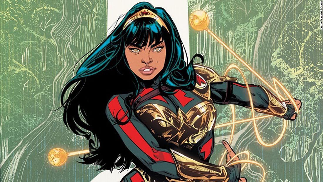 Latinx character lands DC Comics 'Wonder Woman' role and new TV series