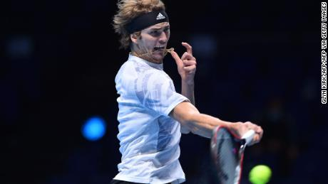 Alexander Zverev was unable to reach the level needed to beat Novak Djokovic.