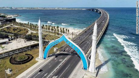 Completed in 2018, the China-Maldives Friendship Bridge is the flagship project of China's infrastructure boom in the Maldives.