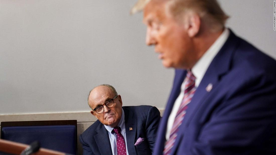 Trump is expected to join Giuliani at Pennsylvania GOP lawmakers' voter fraud event – CNN
