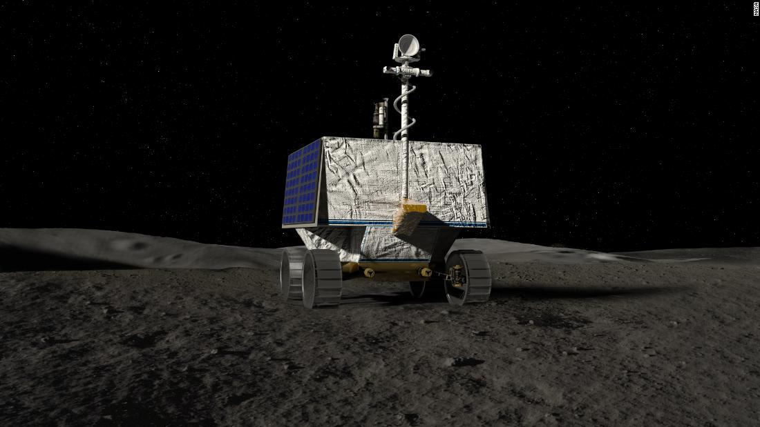 China's Yutu-2 is the only active lunar rover, but NASA is looking to add one of its own. The Volatiles Investigating Polar Exploration Rover, or VIPER, is a mobile robot that will roam around the moon's south pole looking for water ice.
