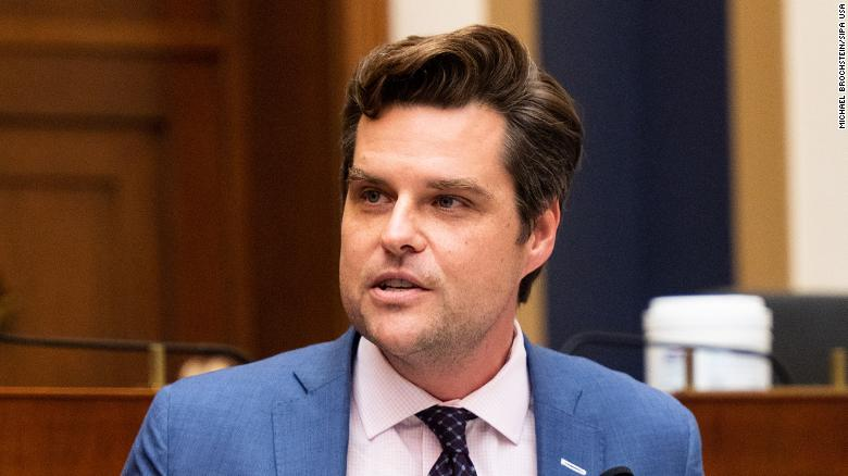 Rep. Matt Gaetz denies relationship with 17-year-old and claims extortion attempt