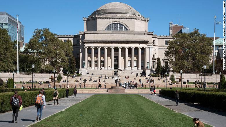 Columbia University bans 70 students for Covid-19 travel violations