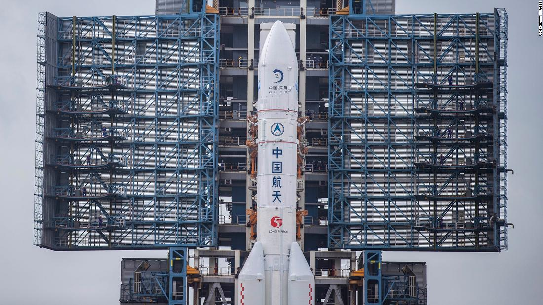 China is launching a space mission to collect the first rocks from the moon in 40 years – CNN