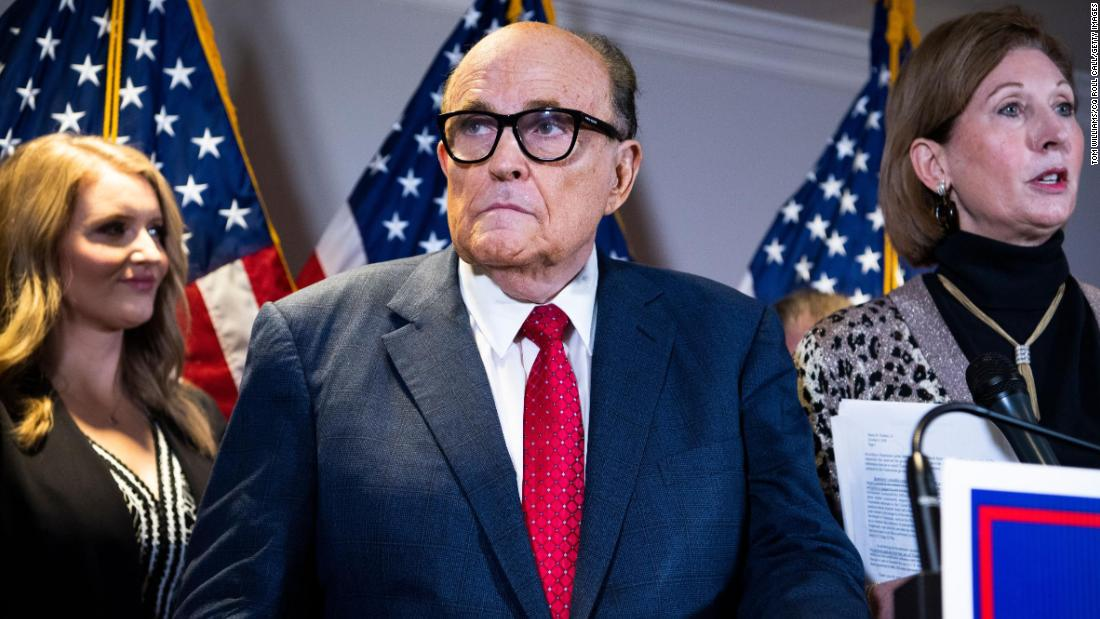 'I'm exaggerating a bit': Rudy Giuliani's voter fraud admission
