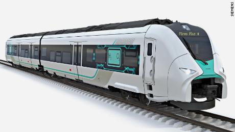 Hydrogen trains can replace diesel engines in Germany
