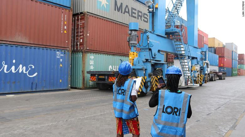 Lori Systems transports cargo across Africa with its network of trucks.