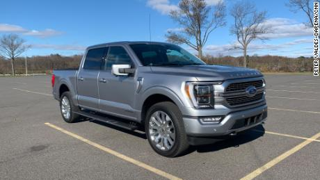 The F-150 Limited Hybrid comes as close  to a luxury car as a pickup probably can.