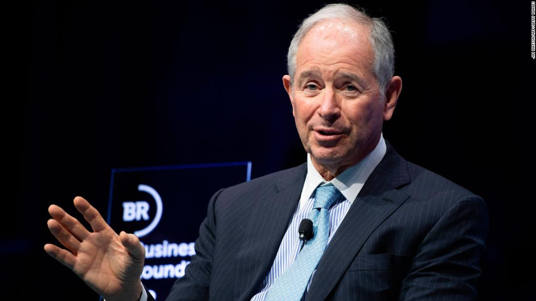 Trump friend and adviser Steve Schwarzman recognizes Biden as President-elect