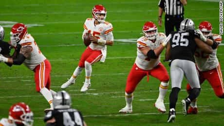 Patrick Mahomes and the Chiefs are in a prime position to claim the AFC West title for the fifth season in a row after defeating the Oakland Raiders on Sunday.