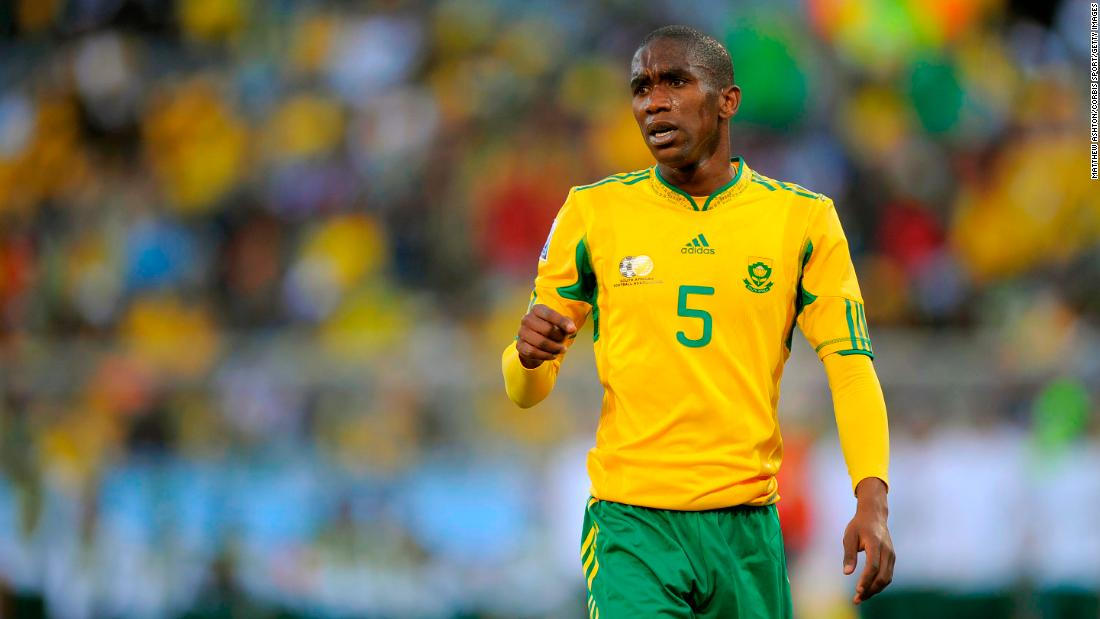Anele Ngcongca Former South African International Dies In A Car Accident Aged 33 Cnn