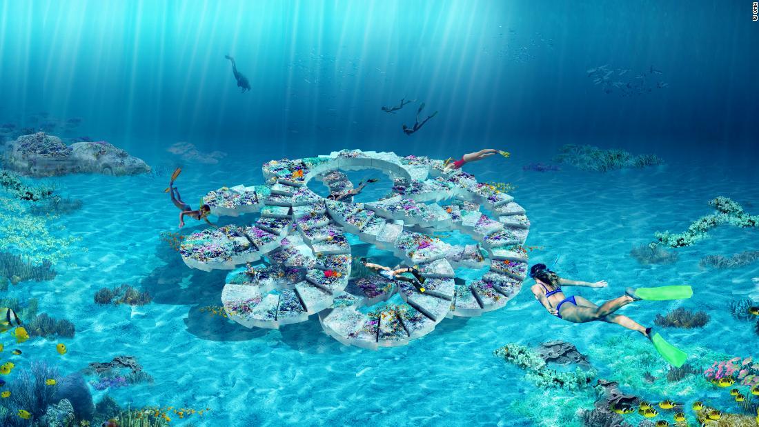 An otherworldly underwater sculpture park will open in Miami